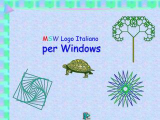 M S W  Logo Italiano per Windows