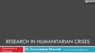 Research in humanitarian crises