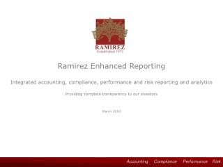 Accounting     Compliance     Performance    Risk