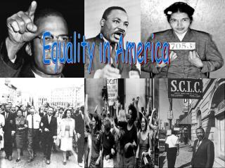 Equality in America