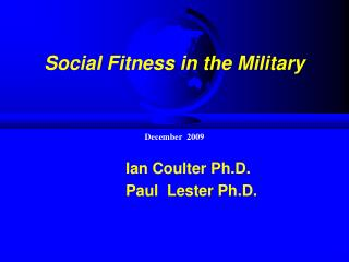 Social Fitness in the Military