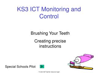KS3 ICT Monitoring and Control
