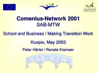 Comenius-Network 2001 SAB-MTW