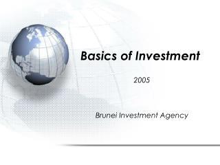 Basics of Investment