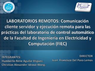 DIRECTOR Juan  Francisco Del Pozo Lemos