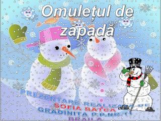 PREZENTARE REALIZAT Ă  DE SOFIA BÂTCĂ GRĂDINIȚA P.P.NR.11 BRĂILA