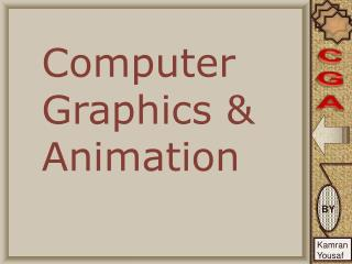 Computer Graphics & Animation