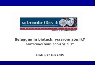 Leiden, 20 Mei 2005