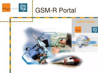 GSM-R Portal