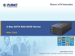 2-Bay SATA NAS RAID Server