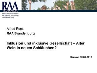 Alfred Roos  RAA Brandenburg
