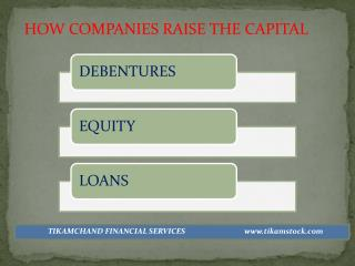 HOW COMPANIES RAISE THE CAPITAL