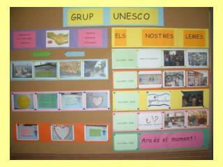 Joan XXIII és una escola associada a la UNESCO