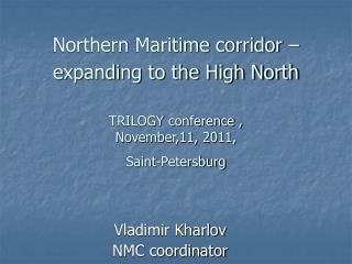 Vladimir Kharlov NMC coordinator