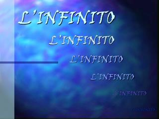 L�INFINITO