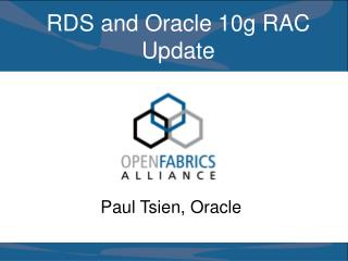 RDS and Oracle 10g RAC Update
