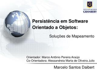 Persistência em Software Orientado a Objetos: