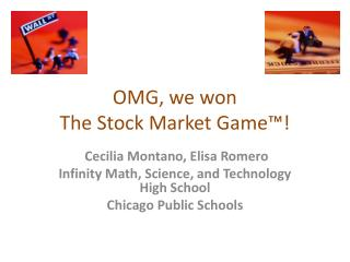 OMG, we won The Stock Market Game™!