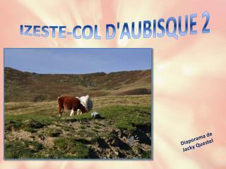 IZESTE-COL D'AUBISQUE 2