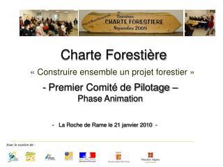 - Premier Comité de Pilotage –  Phase Animation
