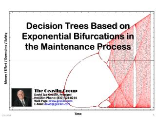 Decision Trees Based on Exponential Bifurcations in the Maintenance Process
