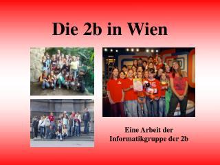 Die 2b in Wien