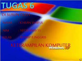 TUGAS 6