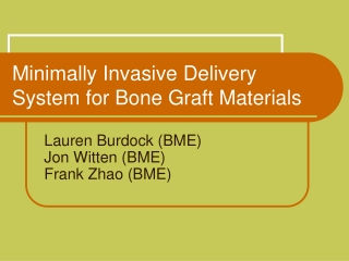 Bone Graft