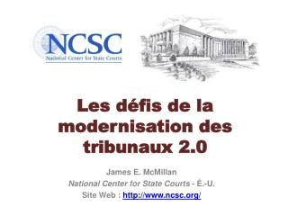 Les défis de la modernisation des  tribunaux2.0