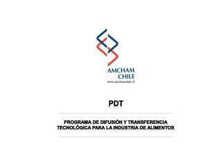 Programa  de  Difusión y Transferencia Tecnológica para  la  Industria  de  Alimentos