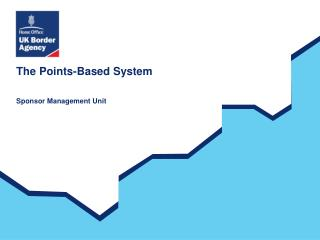 The Points-Based System