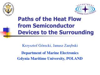 Paths of the Heat Flow from Semiconductor Devices to the Surrounding