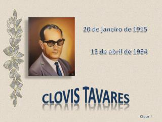 Clovis  tavares