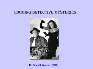 Logging Detective Mysteries