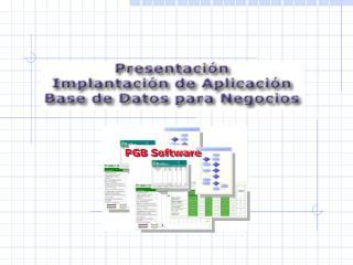 PGB Software