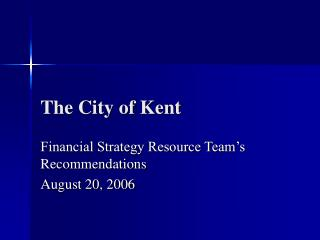 The City of Kent