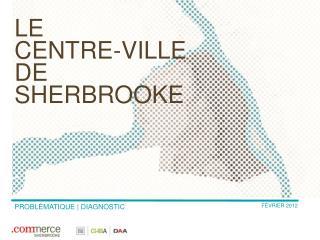 le  centre -ville  de  Sherbrooke