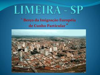 LIMEIRA - SP