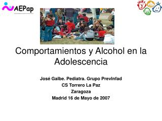 Comportamientos y Alcohol en la Adolescencia
