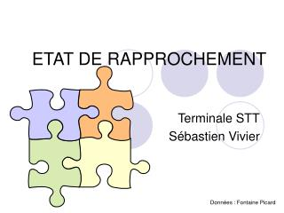 ETAT DE RAPPROCHEMENT