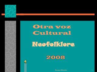 Otra voz Cultural