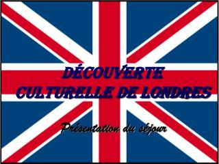 Découverte  culturelle de Londres