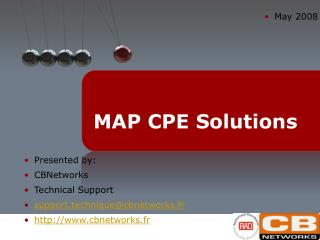 MAP CPE Solutions
