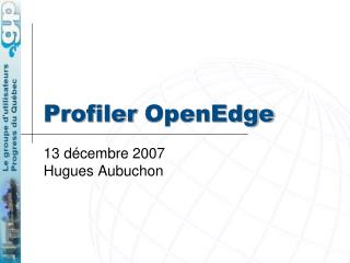 Profiler OpenEdge