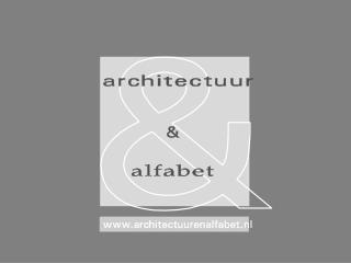 ARCHITECTUUR & ALFABET