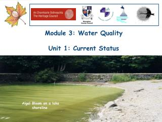Module 3: Water Quality  Unit 1: Current Status