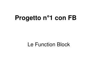 Le Function Block