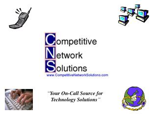 """ Your On-Call Source for  Technology Solutions """
