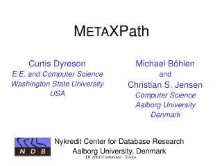 M ETA XPath