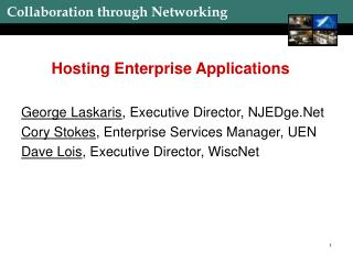 Hosting Enterprise Applications